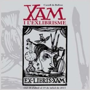 """Exposición """"XAM y el Exlibrismo"""""""